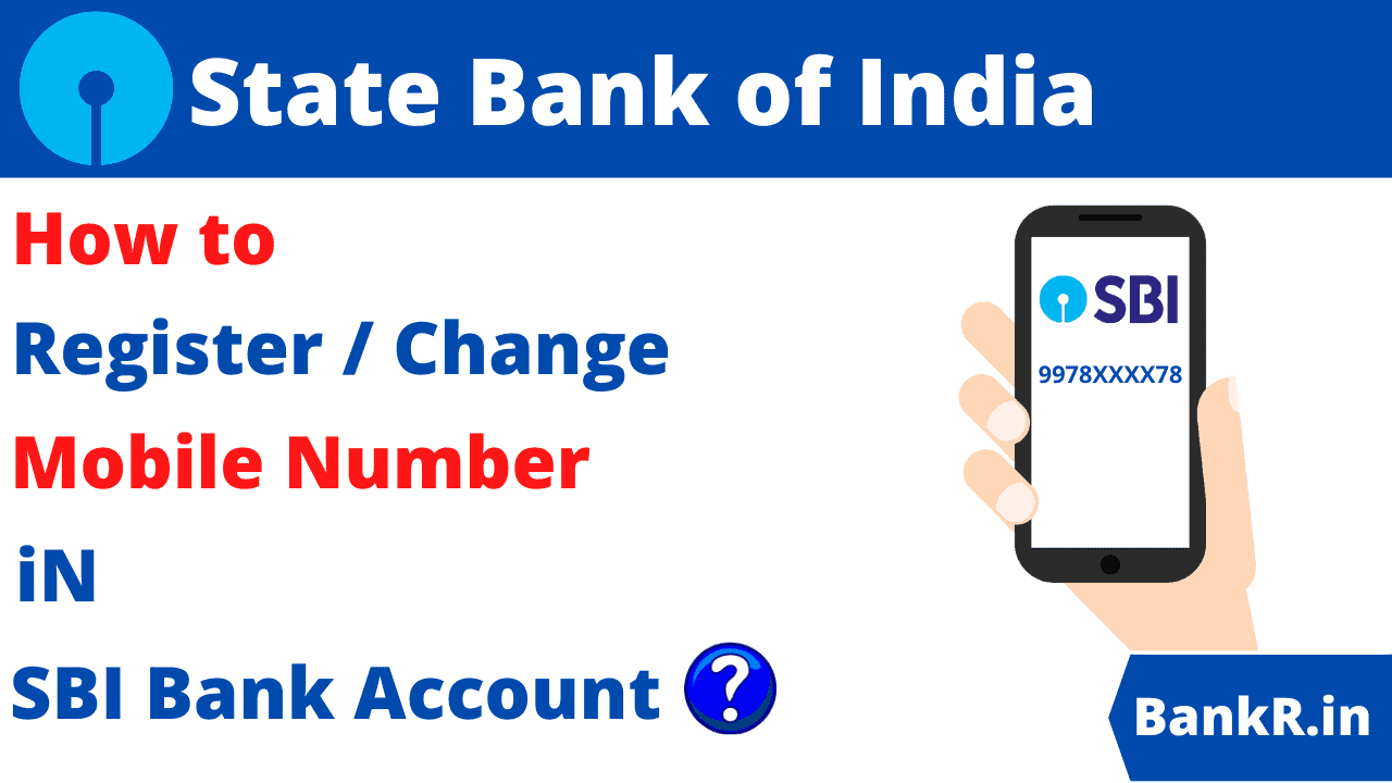 change mobile number in SBI