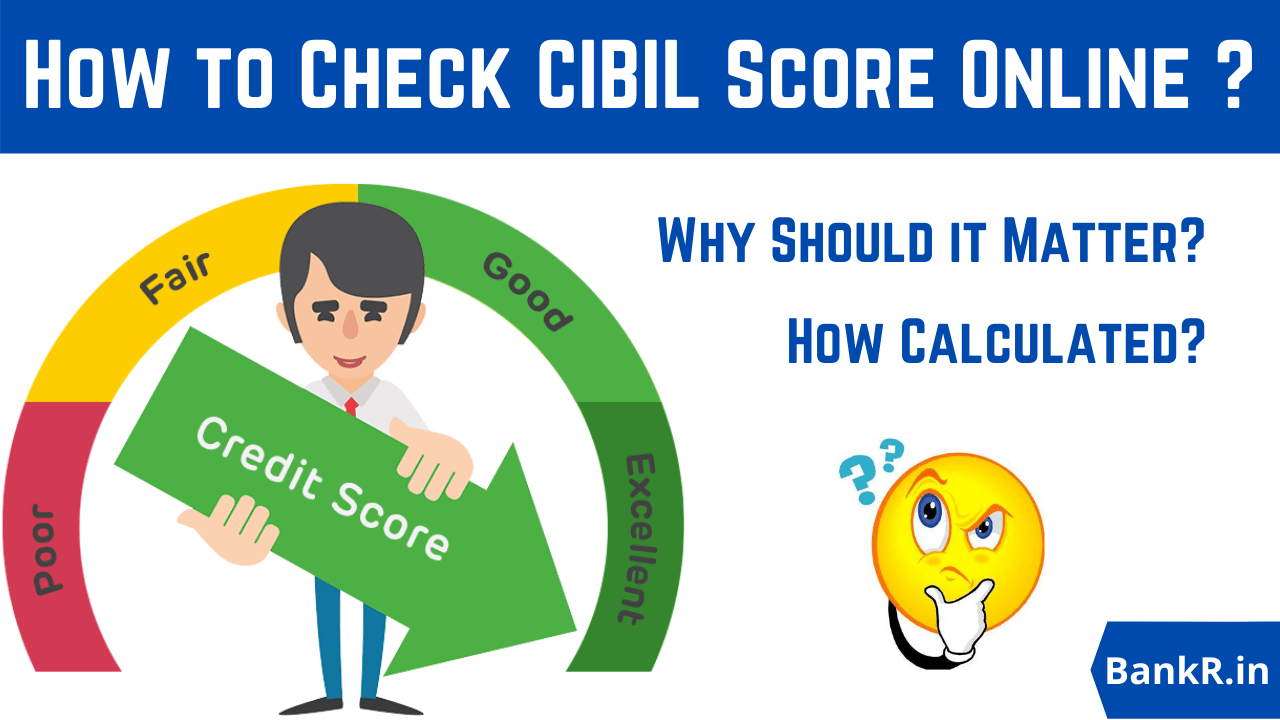 how to check cibil score online