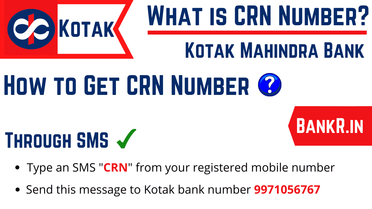 How to Find CRN Number in Kotak Mahindra Bank