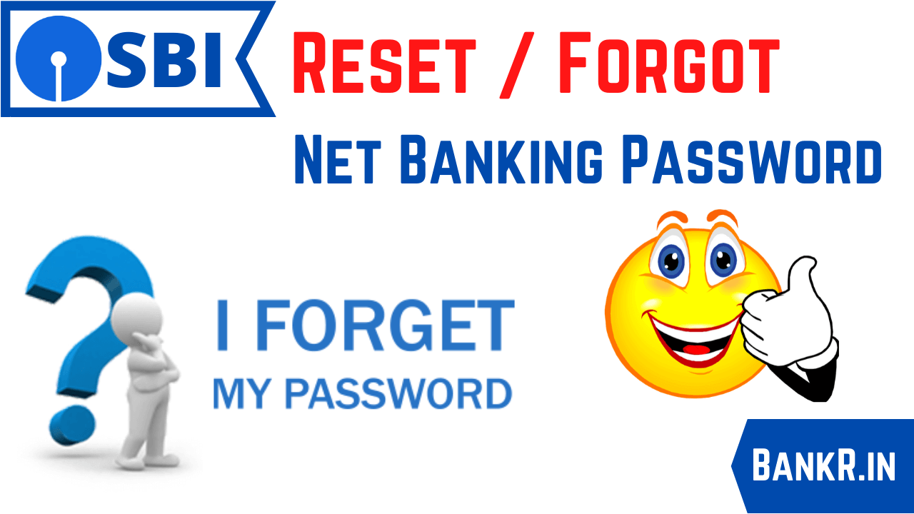 reset sbi net banking password online
