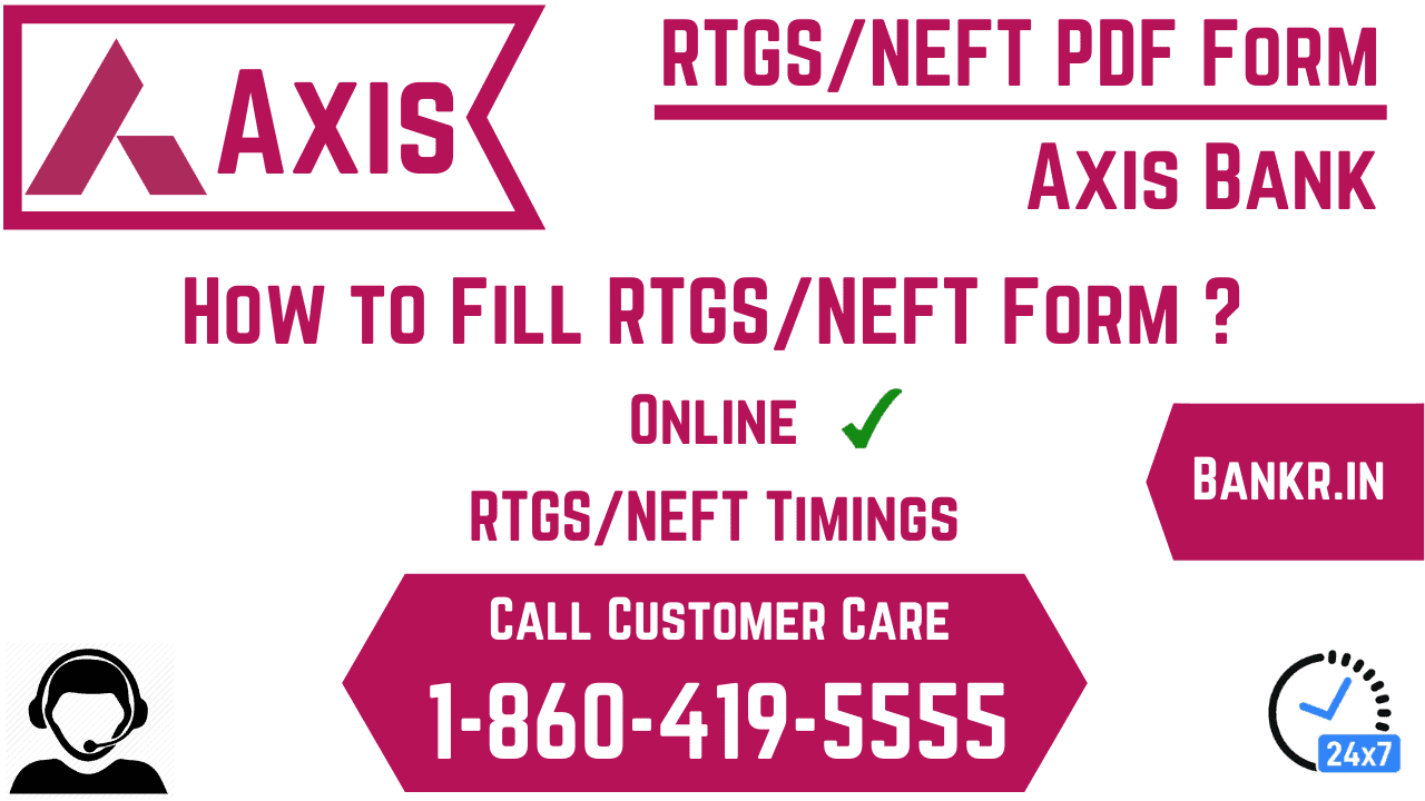 axis bank rtgs neft pdf form
