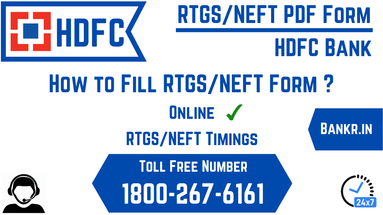 hdfc bank rtgs neft pdf form