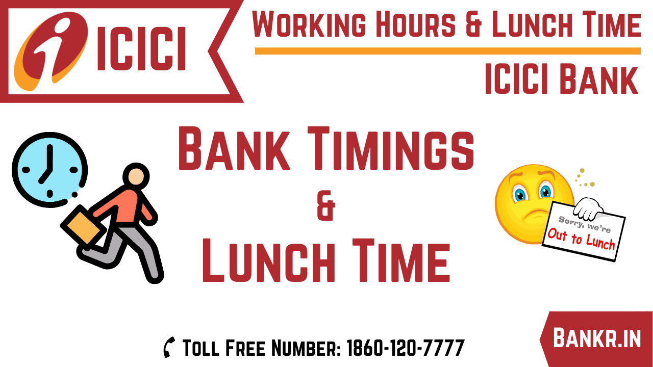 icici bank timings working hours
