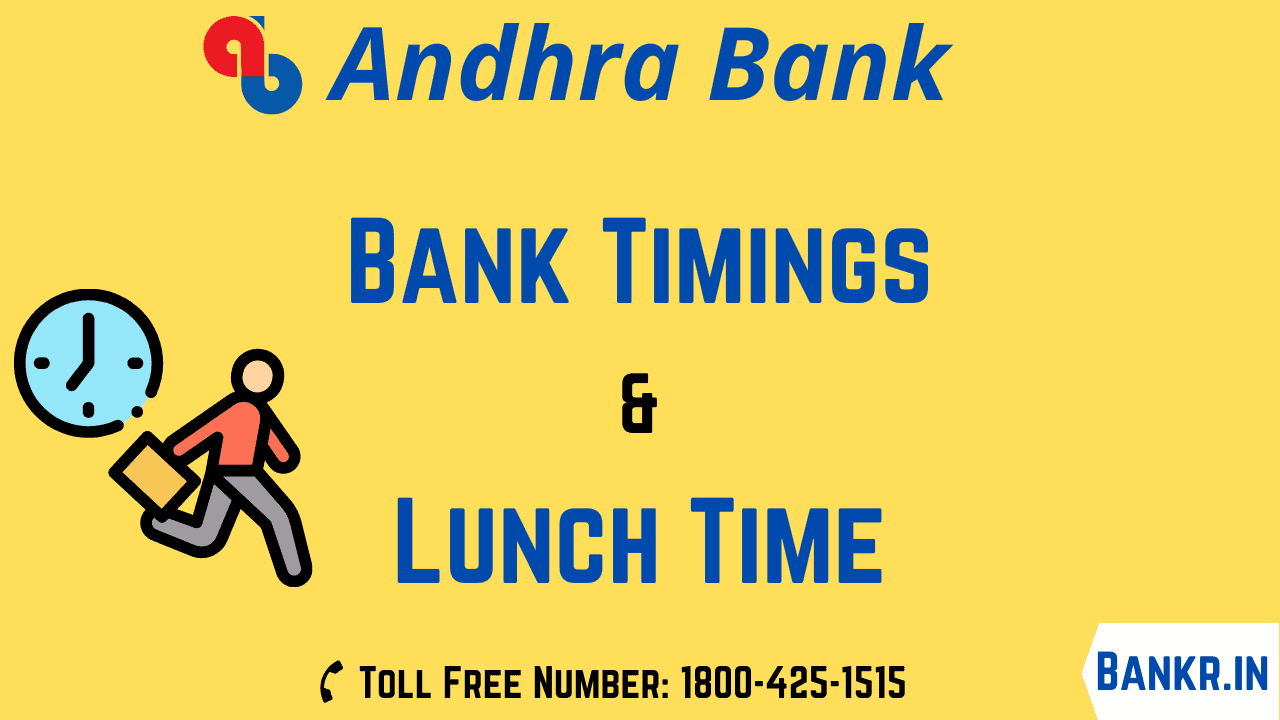 andhra bank timings