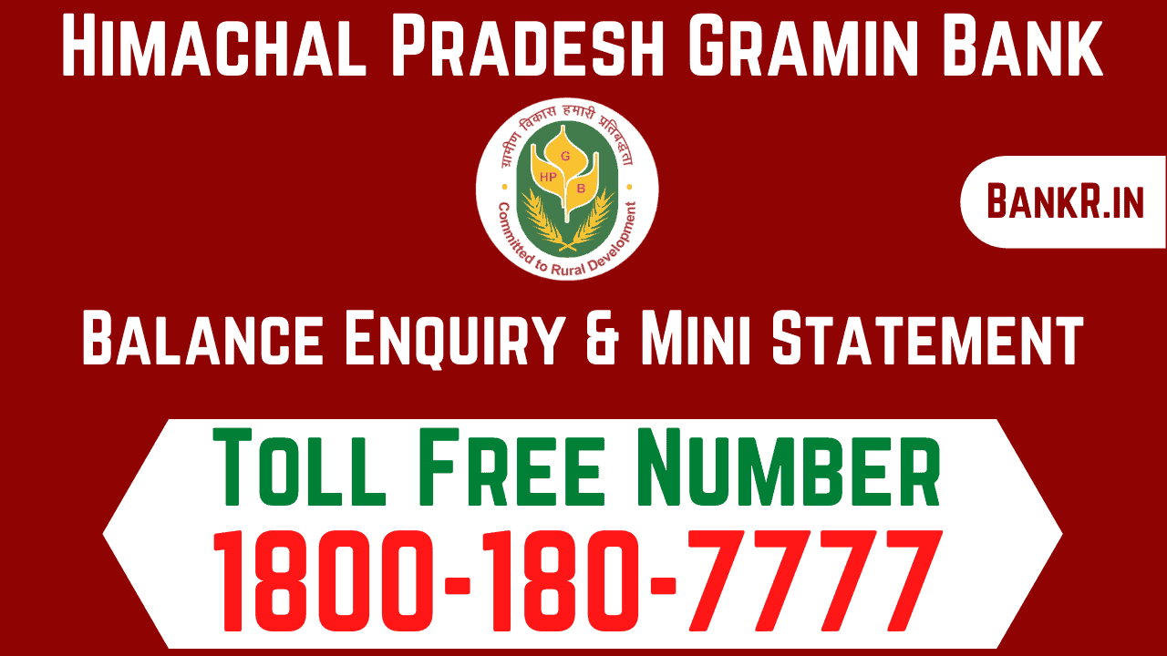 himachal pradesh gramin bank balance enquiry number