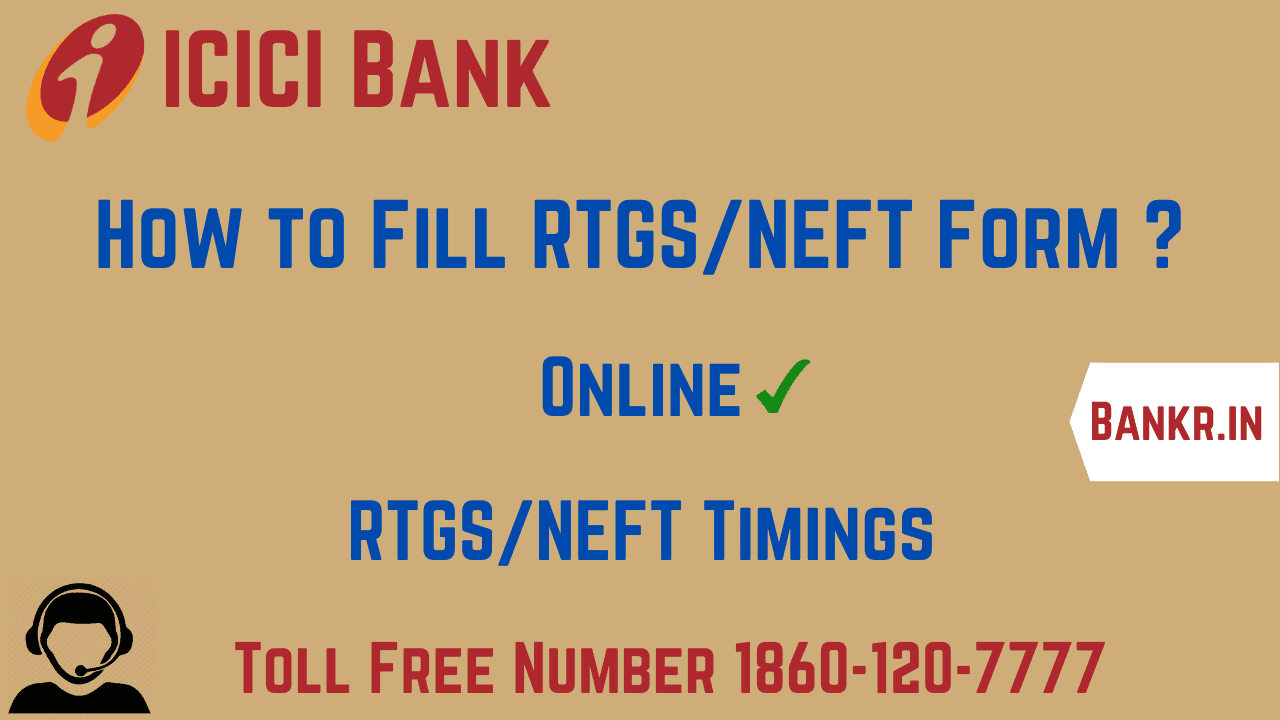 icici bank rtgs neft pdf form