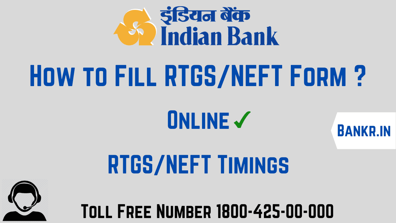indian bank rtgs neft pdf form