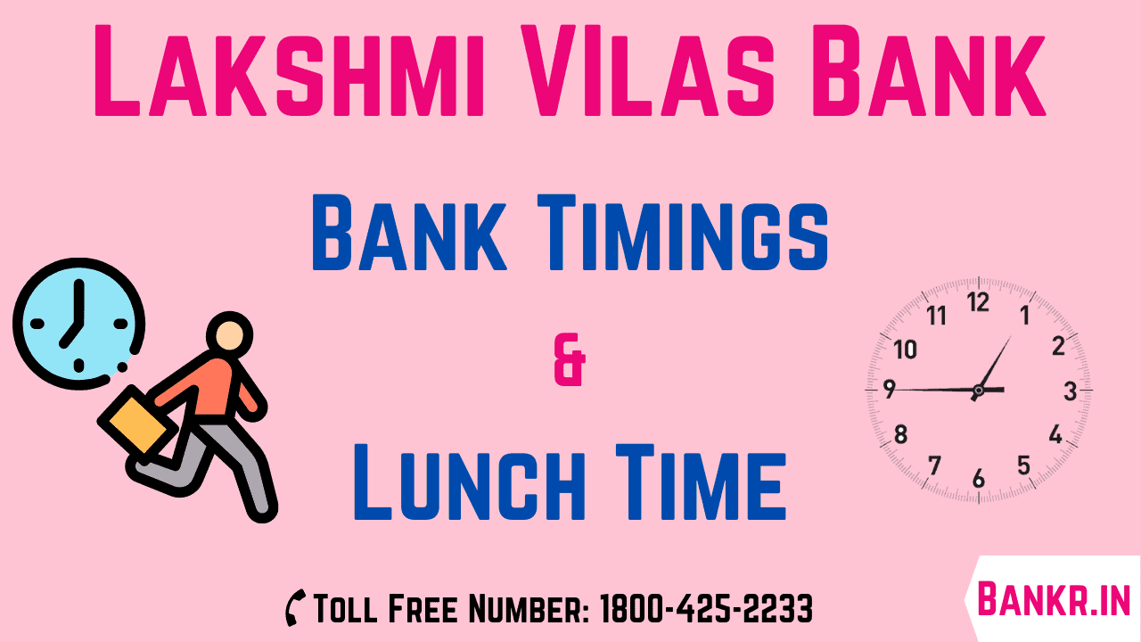 lakshmi vilas bank timings