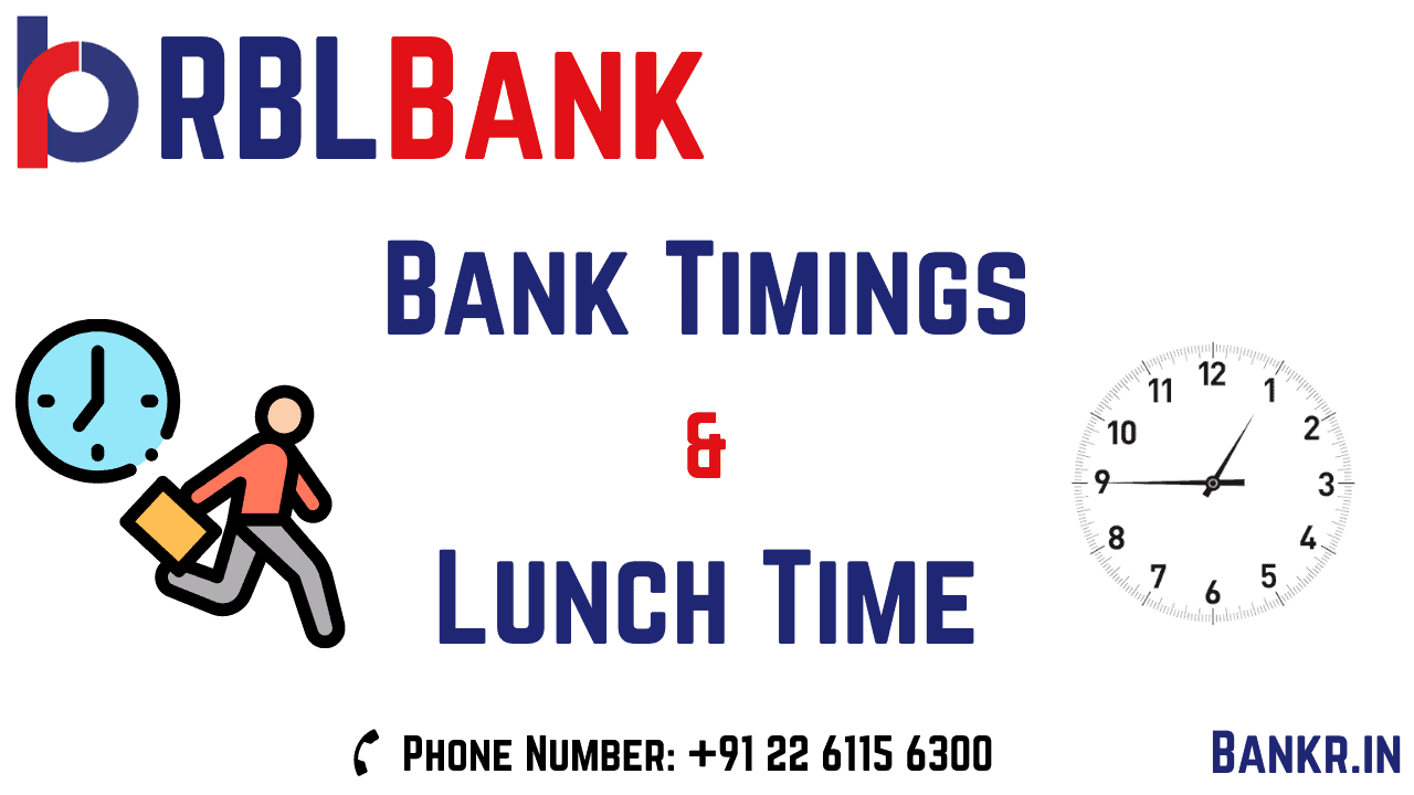 rbl bank timings