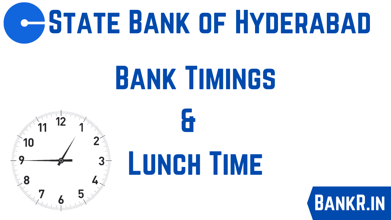 sbh bank timings lunch time