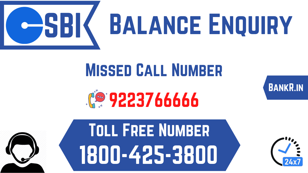sbi balance enquiry mini statement toll free number