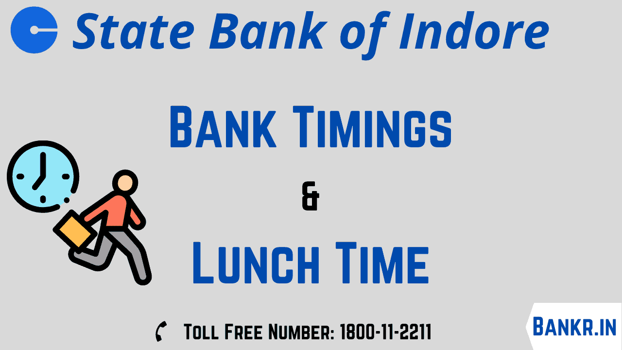 state bank of indore timings