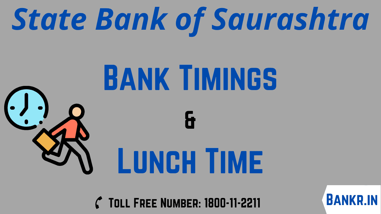 state bank of saurashtra office timings