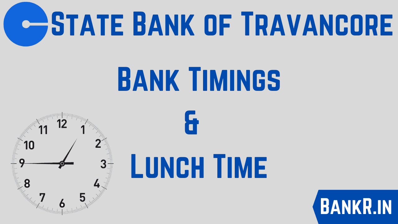 state bank of travancore timings
