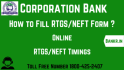 corporation bank rtgs neft pdf form download