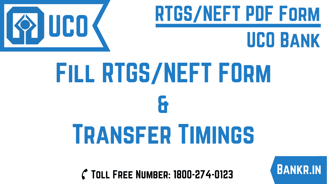 uco bank rtgs neft pdf form