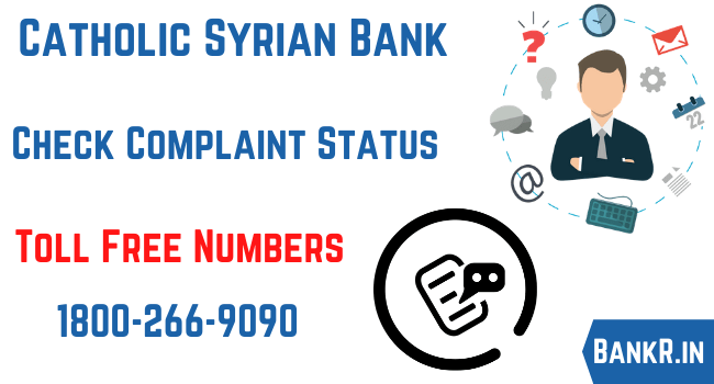 catholic syrian bank complaint