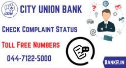 city union bank complaint status