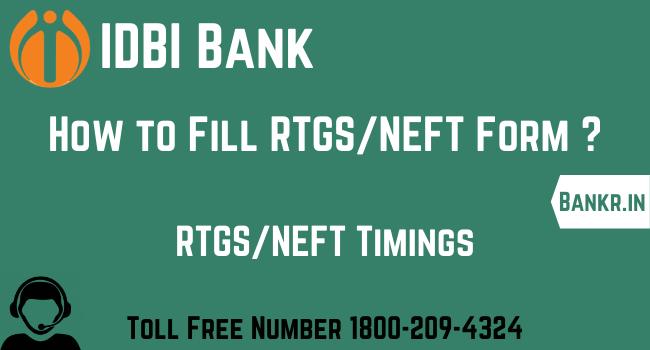 idbi bank rtgs neft pdf form