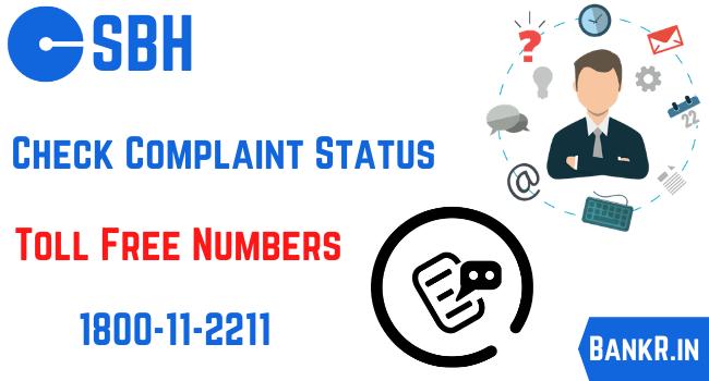 sbh complaint status
