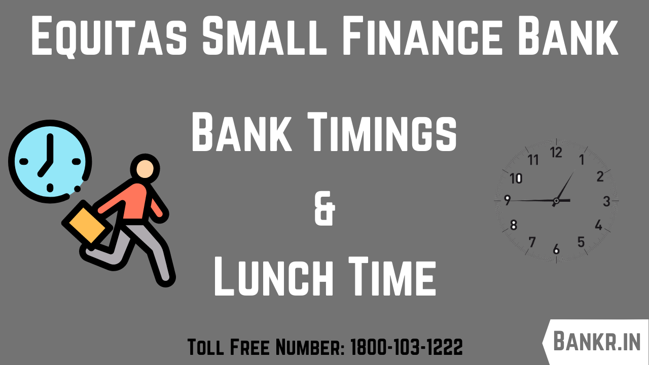 equitas small finance bank timings