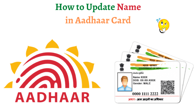change name in aadhar card