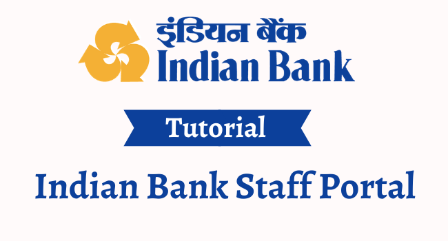 indian bank staff portal