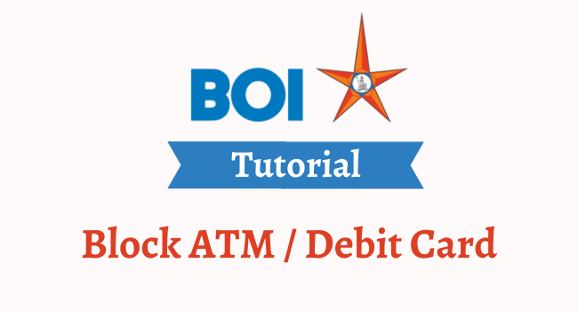 block boi atm debit card