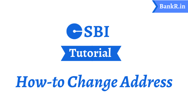 change address in sbi bank
