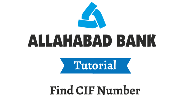 find cif number in allahabad bank