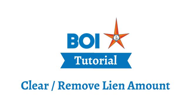 lien amount in boi